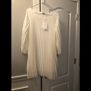 Gorgeous Zimmerman off white dress new with tags